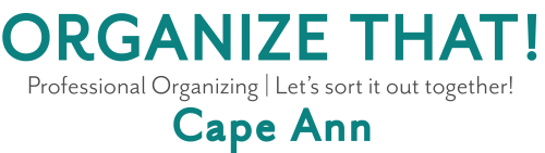 Organize That! Cape Ann Logo